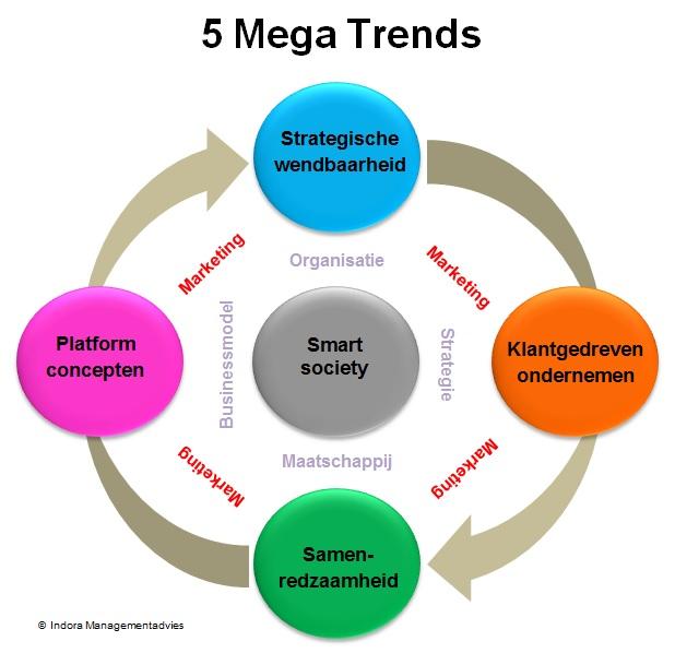 5 Mega Trends Indora Managementadvies